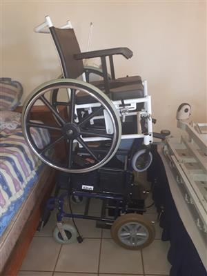 Wheelchair and Electrical recliner bed