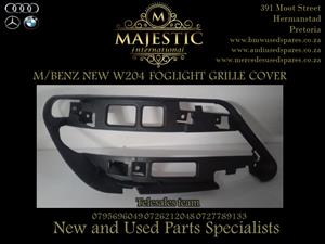 M/BENZ NEW W204 FOG LIGHT GRILLE FOR SALE.