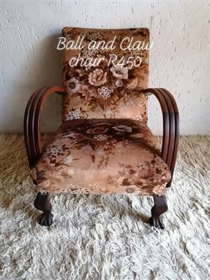 Ball & Claw Chair