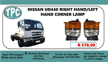 Nissan UD440 Right Hand/Left Hand Corner Lamp - For Sale at TPC.