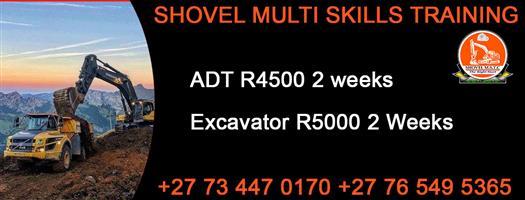 Excavator Drill Rig 777 and ADT Dump Truck Training Shovel Multi Skills Rustenburg Namibia Botswana In Kimberly, kuruman, Northern Cape +27145929860 +27717668235 +27765495365