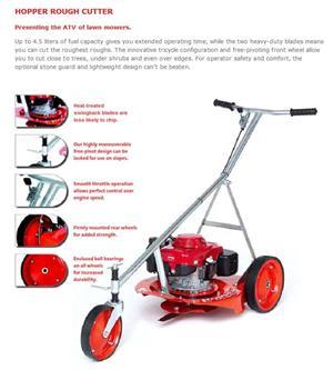 Honda Rough Cutter Mower