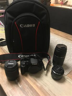 Brand New Canon Camera and Bag