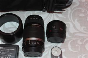 Second hand Canon EOS 600D Camera Bundle for sale