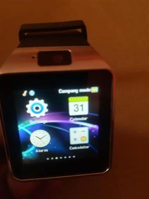 Smart watch with Lithium battery