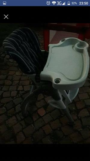 Baby Camping Cot & High Chair