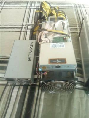 Antminer S9i and L3+