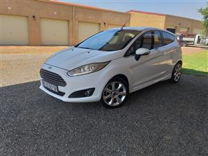 2012 Ford Fiesta 1.6 3 door Titanium
