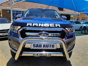 2017 Ford Ranger 3.2 SuperCab 4x4 XLS auto