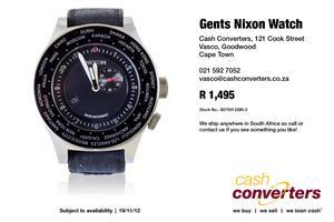 Gents Nixon Watch