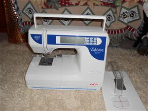 ELNA ENVISION 8007 EMBROIDERY AND SEWING MACHINE COMBO INLUDES 13 EMBROIDERY DISKS