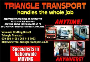 8 ton closed truck leaving  Kzn to Gp with lots of space. Shared loads welcome. Free quotes. Free insurance. 061 418 7023