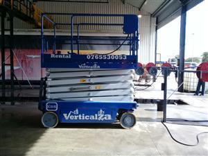 20. VerticalZA JLG 260 MRT - 10m Diesel Scissor Lift cherry picker Manlift