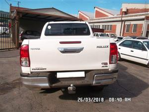 Toyota Hilux 2.8 GD6 4X4 Stripping For Spares