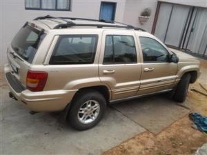 Jeep Grand Cherokee 3.1TD STRIPPING FOR PARTS