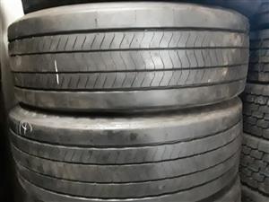 385 Good second hand truck tyres