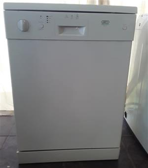 White Defy dishwasher