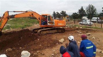 Excavator training centre in Belleville