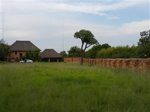 Stand in agricultural holdings area ready to build your dream home!