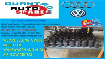 WE ARE SELLING A WIDE VARIETY OF VOLKSWAGEN AND AUDI AIR FLOW METERS