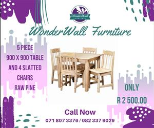 Table & Chairs 5 Piece Special