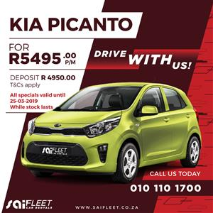 2019 Kia Picanto 1.0 Start