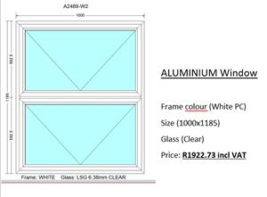 Aluminium Windows For sale