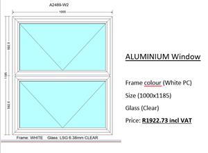 Aluminium Windows For sale