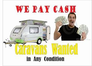 Caravans Wanted in Any Condition