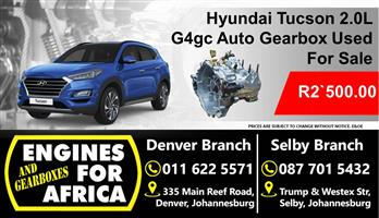 Hyundai Tucson 2.0L G4gc Auto Gearbox Used For Sale