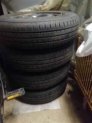 Tyres, Rimms & Hubs