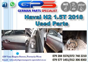 Used GWM Haval H2 1.5T 2018 Parts for Sale