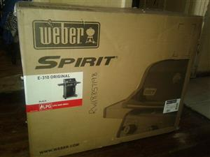 Weber Gas Braai worth R12 000