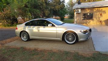 2006 BMW 6 Series coupe 650i COUPE (F13)