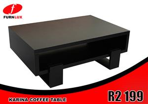 BRAND NEW COFFEE TABLE !!!!KARINA COFFEE TABLE FOR ONLY R2 199