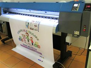 F-1866/ECO FastCOLOUR 1860mm EPSON® DX5 Printhead Large-Format ECO Solvent Ink Inkjet