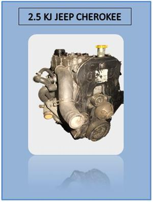 JEEP CHEROKEE 2.5 KJ ENGINE (FOR SALE)