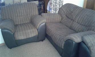 Lounge for sale leather and material