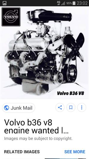 Volvo B 36 V8 engine wanted