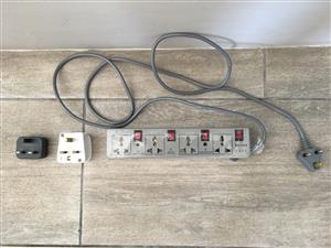 British-Type Multi-plug and Two Separate Plugs