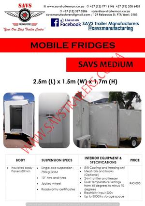 mobile fridge