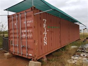 Triton Cargo Container - on auction