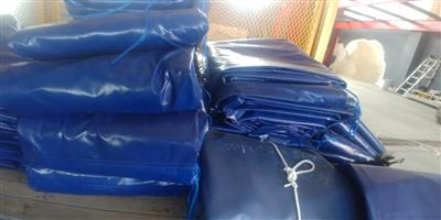 Top quality 9m x 9m and 16m x 9m pvc truck covers/tarpaulins and cargo nets for super-link and tri_axle