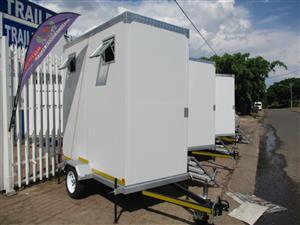 2 DOOR MOBILE VIP TOILET FOR SALE