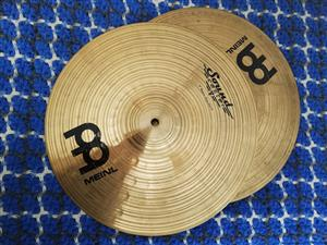 "Meinl 14"" Soundcaster Custom Medium Hi-Hat Cymbals"