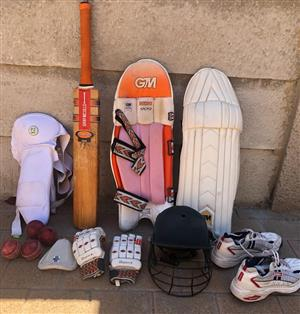 Second hand cricket kit for sale