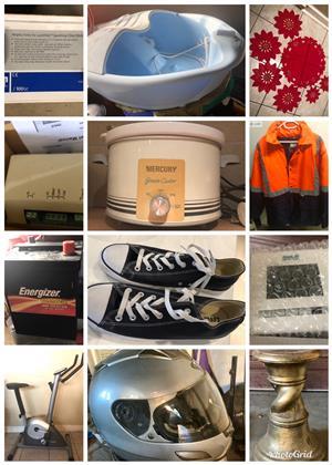 Pre Christmas garage clearance sale