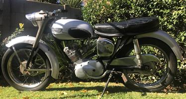 1963 Triumph Tiger Cub 200cc a true restorers dream. (No registration documents)