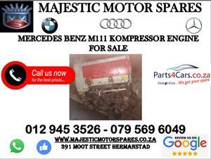 Mercedes benz kompressor engine for sale second hand