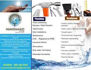 Nunomanzi Plumbing, Building and Maintenance Services